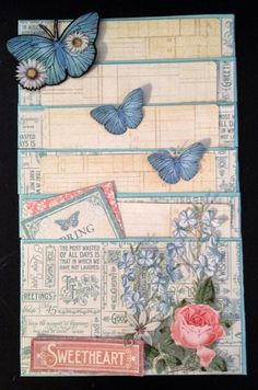 Hi everyone :-)   Here is part 3 for basic scrapbooking and craft tutorial for beginners on how make pockets for mini albums, journals and ...