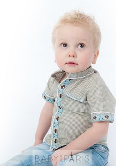 Originele babyoverhemd Newborn | BabyFromParis