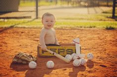 First birthday photography pictures. Baseball theme birthday pictures