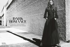 Dark Romance | Lys Inger | Frederic Pinet #photography | Marie Claire UK September 2012