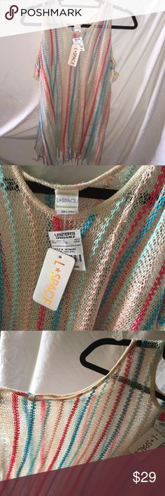 L Space coverup BRAND NEW with tags on l*space Swim Coverups