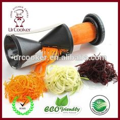 Cheap cooking tools, Buy Quality vegetable spiralizer directly from China spiral slicer Suppliers: Wholesale Vegetable Spiral Slicer Carrot Cucumber Zucchini Noodle Julienne Cutter Peeler Kitchen Piece Grater Cooking Tool Creative Kitchen, Spiral Vegetable Cutter, Carrot Pasta, Zucchini Pasta, Spiral Cutter, Spiralizer Recipes, Vegetable Spiralizer, Vegetable Noodles, Grater