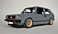 Iconic VW Golf GTi Mk1 in LEGO