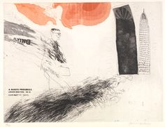 David Hockney. Print