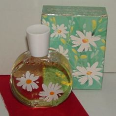 Avon Delicate Daisies perfume... I also had the matching powder and hairbrush