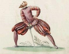 16th Century German fencing attire