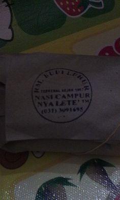 Nasi campur Nya Lete' . Bangkalan madura