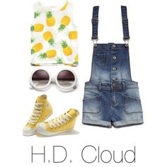 cool Tween fashion pineapple.   SO CUTE!!!!!!!!! ♥...