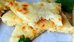 Easy Cheesy Potato Flat Bread (no yeast!)