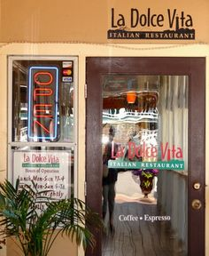 La Dolce Vita Italian Restaurant - Corolla, NC. Delicious Italian food served daily for lunch and dinner. With views on the water!