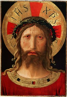 3rd Sorrowful Mystery. Christ Crowned With Thorns, Fra Angelico. Pray for moral courage.