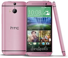You know you want it: leaked HTC One M8 looks pretty in Pink - http://www.aivanet.com/2014/05/you-know-you-want-it-leaked-htc-one-m8-looks-pretty-in-pink/