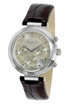 Kenneth Cole Men's Classic Round Stainless Steel Watch