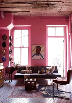 15 Rooms That Unabashedly Celebrate Bold Color | Design*Sponge