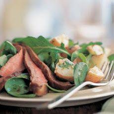 Flank Steak, Arugula & Potato Salad Recipe