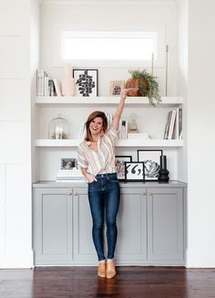 Tips for how to style your bookshelves
