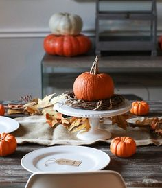 My Favorite Thanksgiving Tablescapes