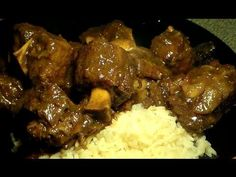 The Best Jamaican Style Oxtails Recipe: How To Make Jamaican Style Oxtails - food to make - Oxtail recipes Jamaican Oxtail, Jamaican Cuisine, Jamaican Dishes, Jamaican Recipes, Jamaican Curry, Jamaican Chicken, Jamaican Rice, Meat Recipes, Indian Food Recipes