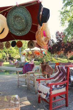 hat party by julia lake parties! www.julialake.com