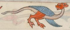 Detail from The Luttrell Psalter, British Library Add MS 42130 (medieval manuscript,1325-1340), f70v