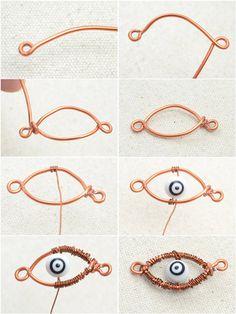 Halloween Evil Eye Bracelet Design - Make Braided Evil Eye Bracelet – Pandahall