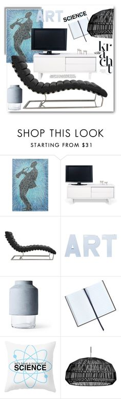 """Art and Science.."" by gul07 ❤ liked on Polyvore featuring interior, interiors, interior design, home, home decor, interior decorating, NOVICA, TemaHome, Smythson and Dot & Bo"