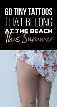 60 Tiny Tattoos That Belong At The Beach This Summer   TattooBlend Protective Hairstyles, Family Name Tattoos, Rose Tat, Clever Tattoos, Piercing, Pretty Tattoos, I Work Out, Future Tattoos, Skin Art