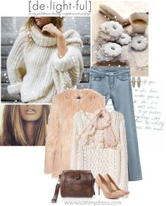 """""""It's cold outside."""" by kaliam ❤ liked on Polyvore"""