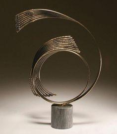 Curtis Jere I Wave Sculpture