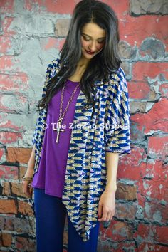 Estrella Kimono Cardigan – The ZigZag Stripe. Save 10% on every order with coupon code ZZS72, and shipping is free! zigzagstripe.com