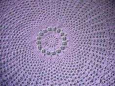 Valis' Circular Crochet Shawl by PJ Crafts in Austin
