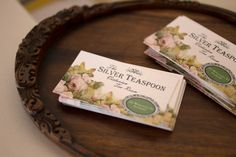 The Silver Tea Spoon A Vintage Affair Stuff To Do, Things To Do, Vintage Tea, Affair, Tea Party, Spoon, Place Card Holders, Frame, Flowers