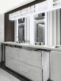 Le premier Baccarat Hotel à New York par Gilles et Boissier Ikea Bathroom, Bathroom Spa, Bathroom Toilets, Bathroom Furniture, Bathroom Interior, Master Bathroom, Washroom, Hotel A New York, Hotel Decor