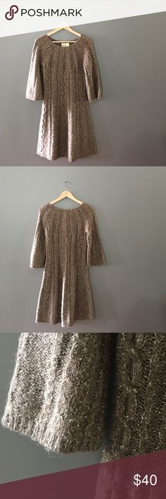 Anthropologie Kenji Sweater Dress Perfect for fall! Kenji Dresses