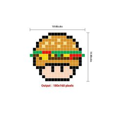 Pixel Art Grid, Cross Stitch, Movie Posters, Fictional Characters, Punto De Cruz, Film Poster, Popcorn Posters, Crossstitch, Film Posters