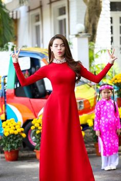 35 Ideas red dress outfit formal for 2019 Cute Short Dresses, Casual Summer Dresses, Stylish Dresses, Cheap Dresses, Pretty Dresses, Long Dresses, Prom Dresses, Vietnamese Traditional Dress, Vietnamese Dress