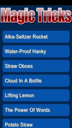 Magic Tricks- Alka-Seltzer Rocket- Water-Proof Hanky- Straw Oboes- Cloud In A Bottle- Lifting Lemon- The Power Of Words- Potato Straw-. Cloud In A Bottle, Alka Seltzer, Oboe, New Career, Magic Tricks, Business Website, Powerful Words, Cool Stuff, Legends