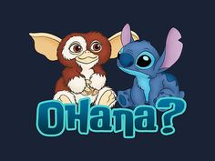 hahahaha Gizmo and Stitch by Ellador
