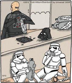 New Humor Dark Hilarious Star Wars Ideas Star Wars Meme, Star Wars Witze, Humour Geek, Cuadros Star Wars, Images Star Wars, Darth Vader, Love Stars, Geeks, Mandalorian