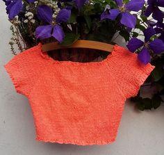 Atmosphere Stretch Neon Bright Orange Crop Top Size 12 | eBay