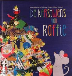 Een bijzonder kerstverhaal over een muisje dat Raffie heet en niets liever wil dan samen met de andere muisjes kerstfeest vieren. Eerst wordt hij uitgelachen, maar dan willen ze hem toch helpen. Ze bouwen van afgedankte spulletjes van de vuilnisbelt samen een kerstboom! Maar wie komt er ineens op bezoek? Zal Raffie dan toch nog een echt kerstfeest krijgen?