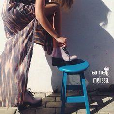 Melissa Stellar @loja_amei  #melissa #vestidoamei #bota #lojaamei #etiquetaamei