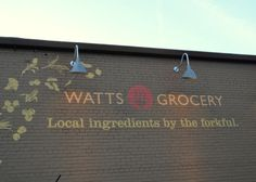 The fabulous Watts Grocery - Durham NC - organic, locally grown food