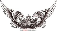 Crown Tattoo Images & Designs