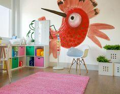 #grafika #naścianę #tapeta #FREZO #Michałek #JacekTryc #tryc #architekt #wnętrza warszawa, #projektowanie #interiors #design, #aranżacja #wall #wallpaper #children #room