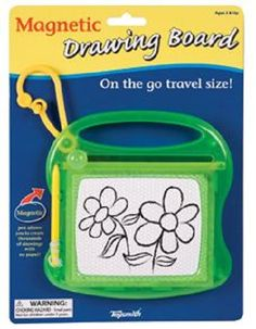On the Go Magnetic Drawing Board by Toysmith