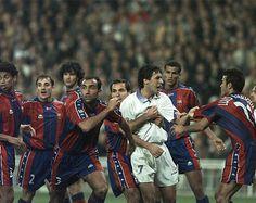 la impotencia ante un enorme jugador El Classico Barcelona Real