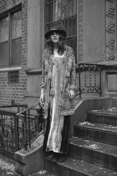 Long Layers, Natalie Off Duty Gypsy Style, Bohemian Style, My Style, Look Fashion, Autumn Fashion, Fashion Outfits, Bohemian Fashion, Natalie Off Duty, Mode Boho