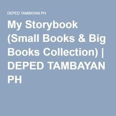 My Storybook (Small Books & Big Books Collection) Henny Penny, Small Book, Big Books, Book Collection, Reading, Projects, Log Projects, Word Reading, Reading Books