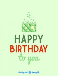 Happy Birthday Retro Card Design